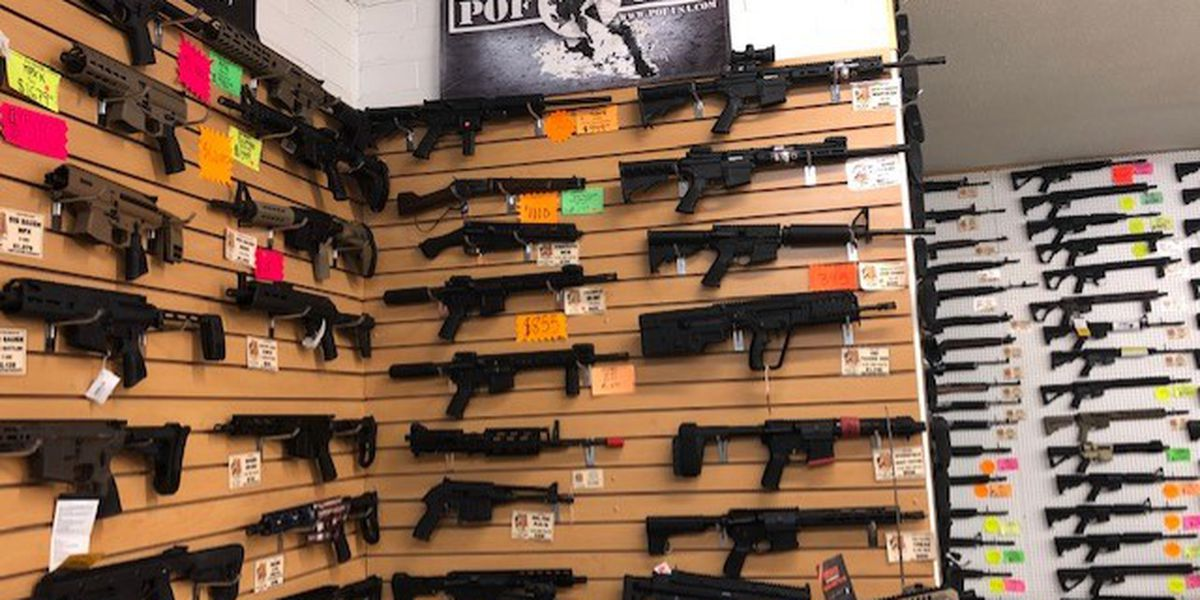 Gun shop customers react to bill aimed at banning assault weapons in Arizona