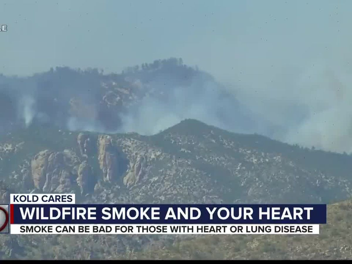 Wildfire smoke may increase risk of heart attack