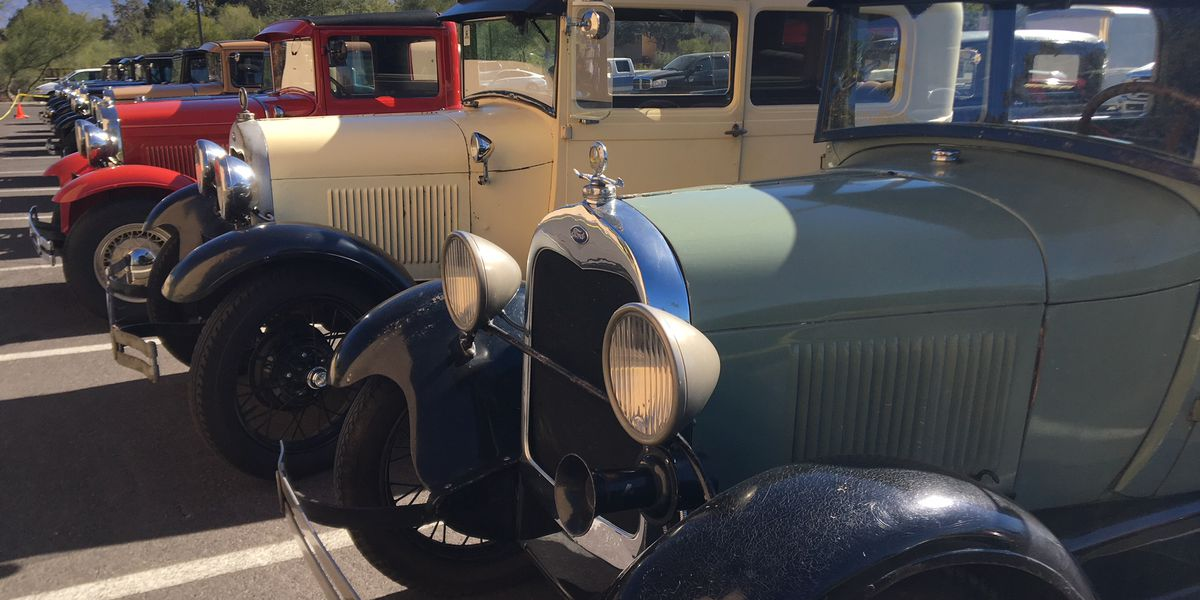 Ford Model A owners meet in Tucson for national convention