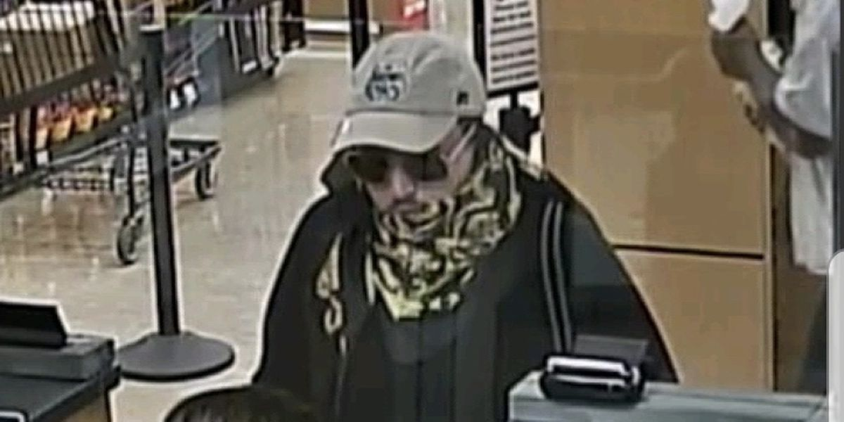 Sheriff's department searches for man involved in robbery