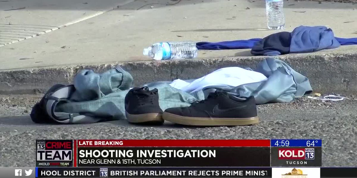 Shooting investigation near 15th, Glenn