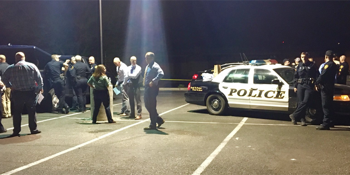 UPDATE: Belt saves officer, police ID suspect accused of shooting at them