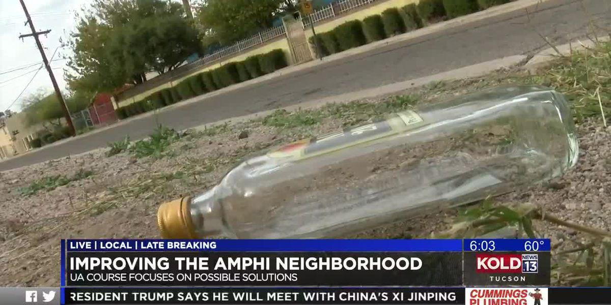 UA students work on ways to improve Tucson neighborhood