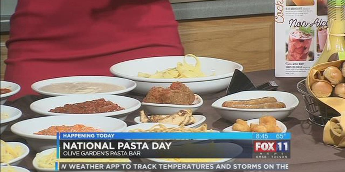Monday, Oct. 17 is National Pasta Day