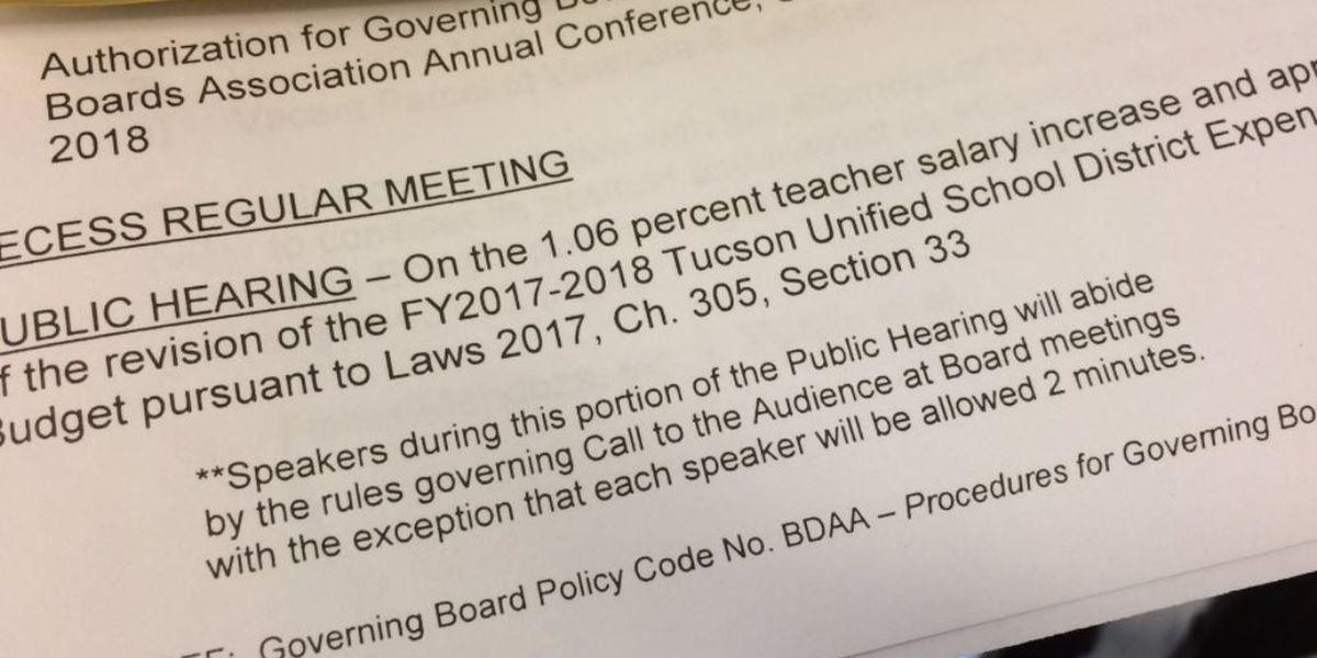 'TUSD' aprueba aumento salarial para maestros