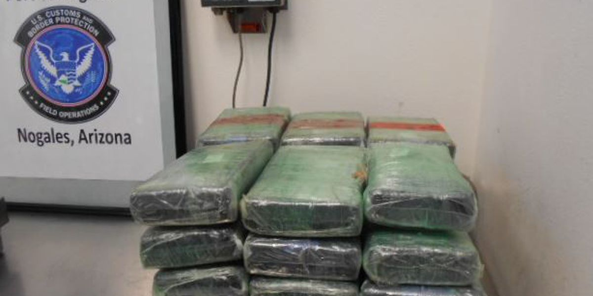 CBP seizes $829k in cocaine, heroin at Port of Nogales in one day
