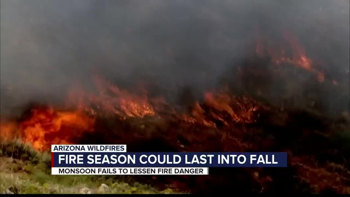 Fire season could last into fall, experts say