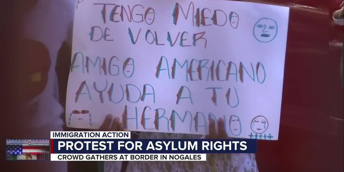 Protesters take to the southern border, calling for immigration policy change