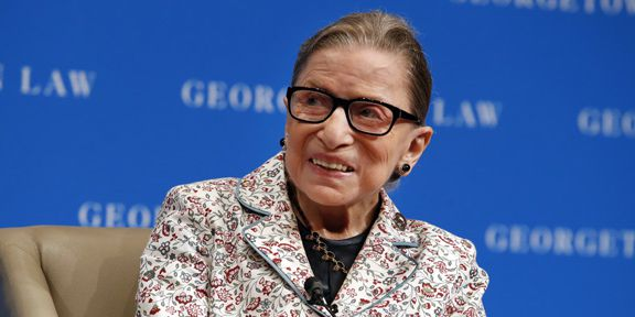 Justice Ruth Bader Ginsburg hospitalized after fall, fractures 3 ribs