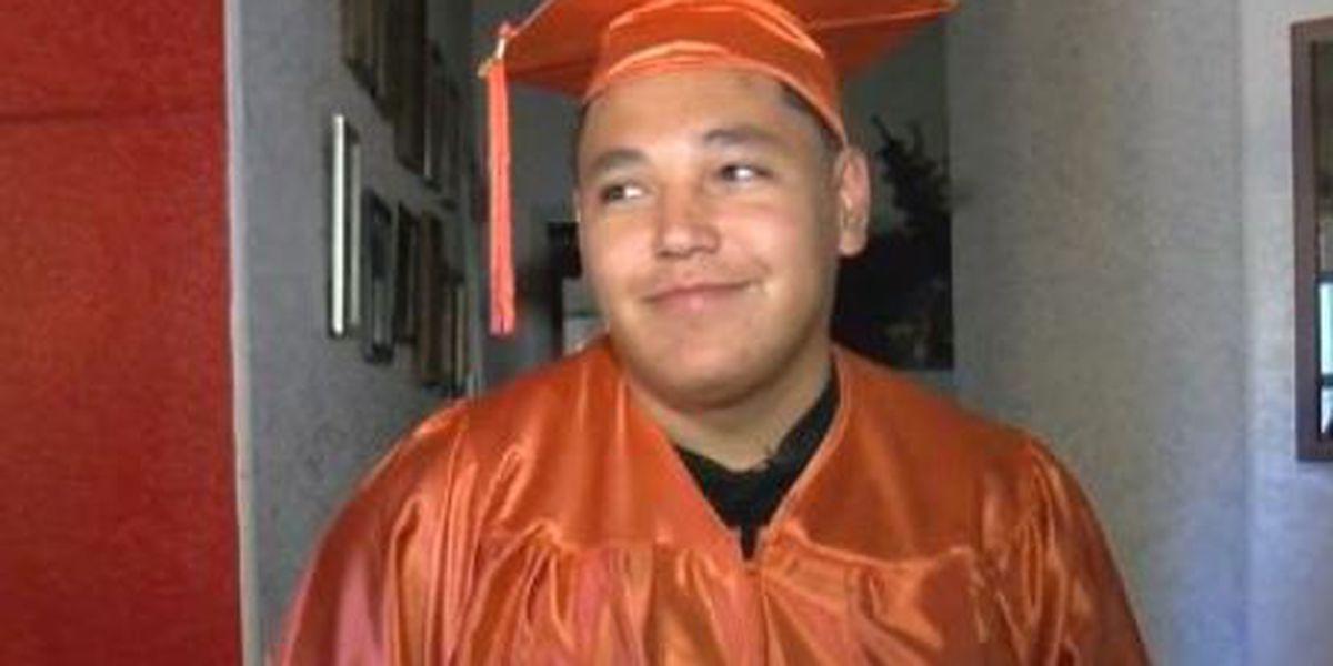 Cholla High senior beats odds, graduates