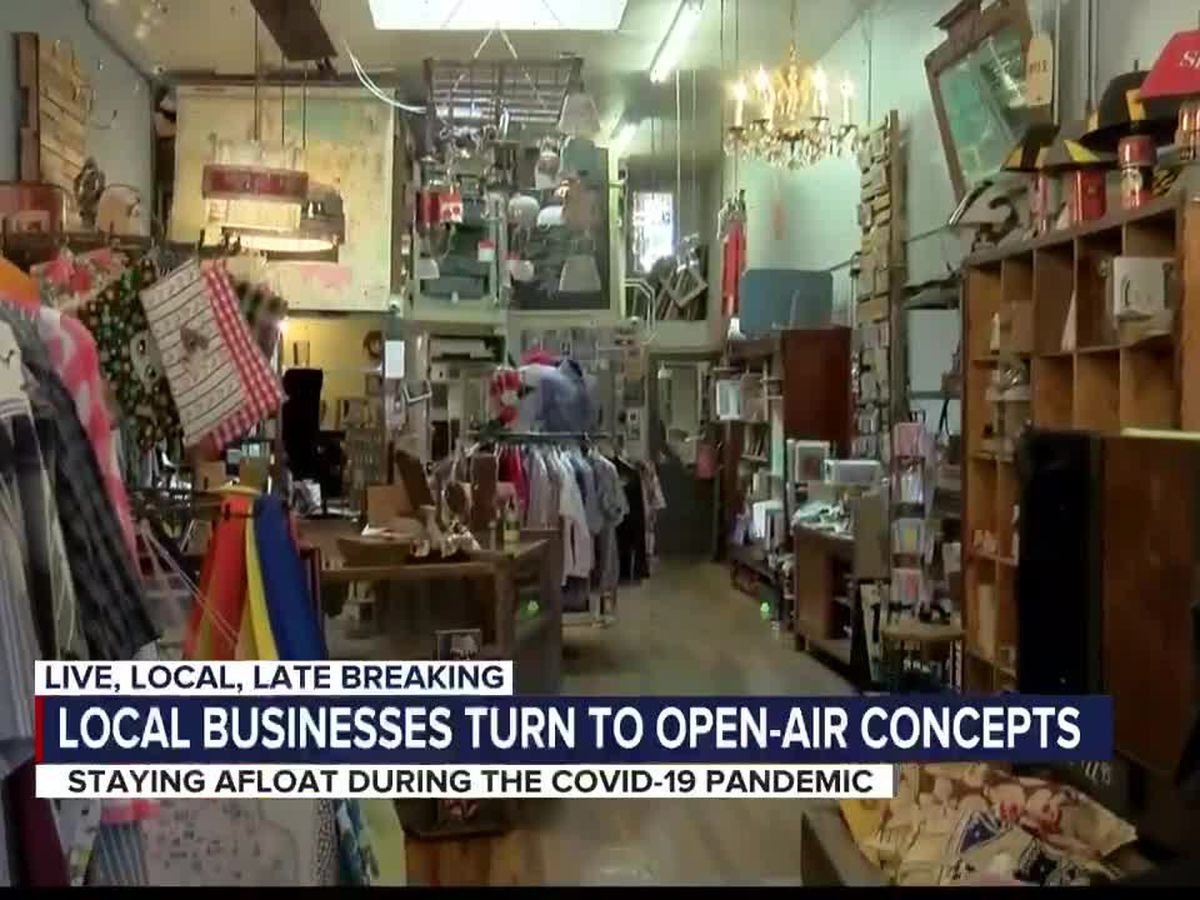 Business owners look to move operations outdoors
