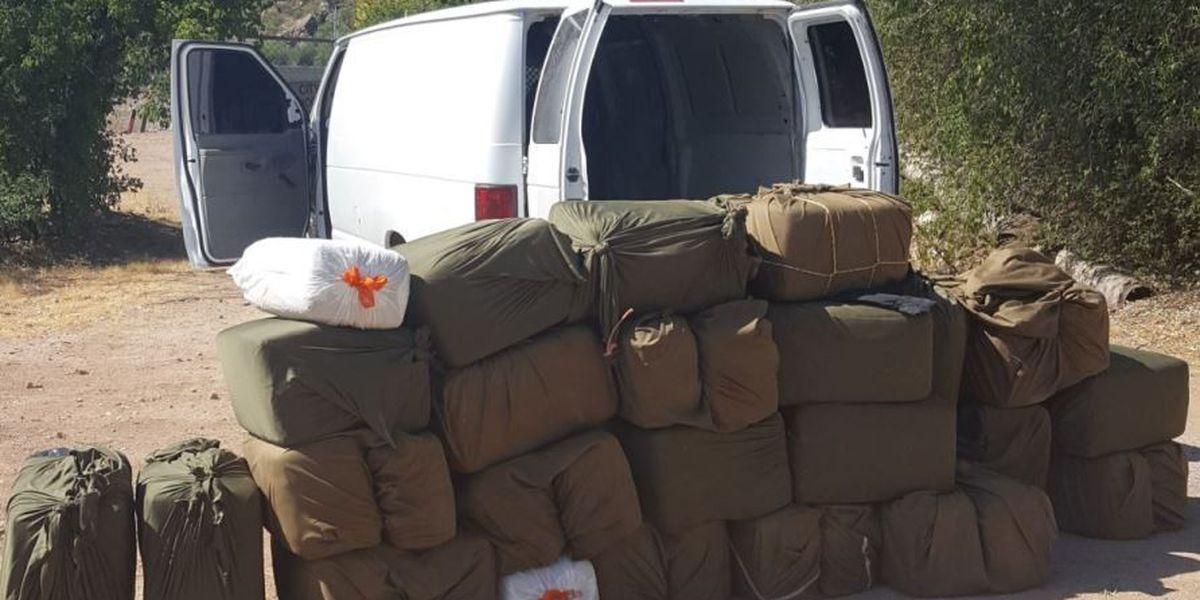 Border Patrol Agents seize load of marijuana near Nogales