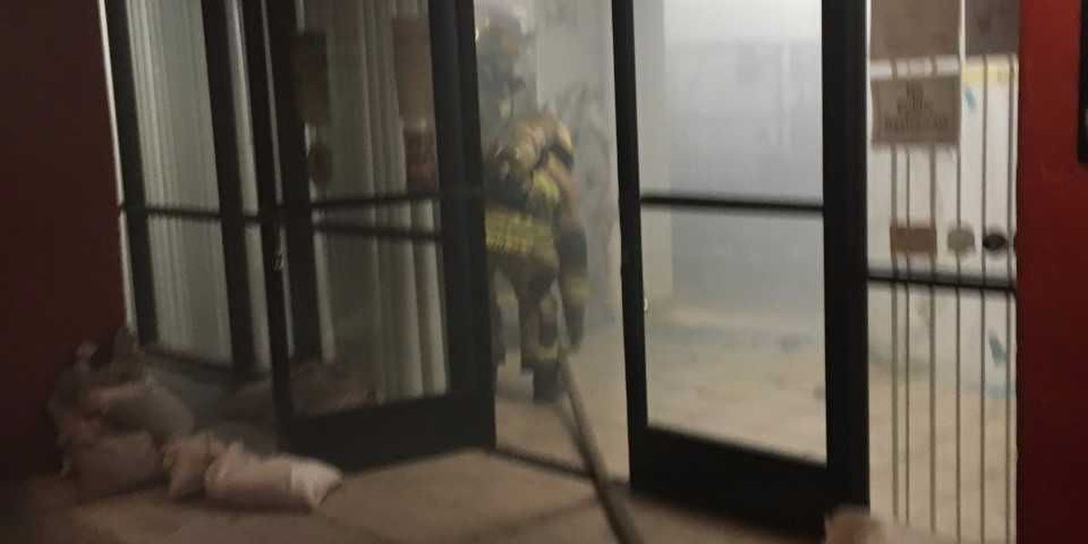 Sprinklers limit fire damage in downtown Tucson building