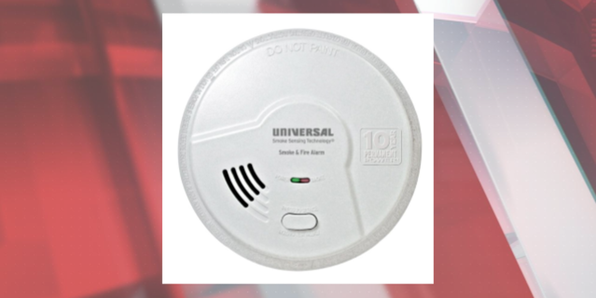 Recall Alert: 180,000 smoke detectors recalled due to not detecting smoke