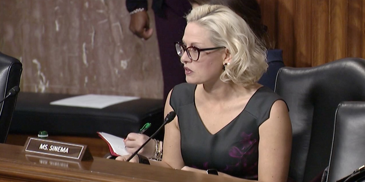 Sinema joins senators urging for low income energy assistance in next COVID relief package
