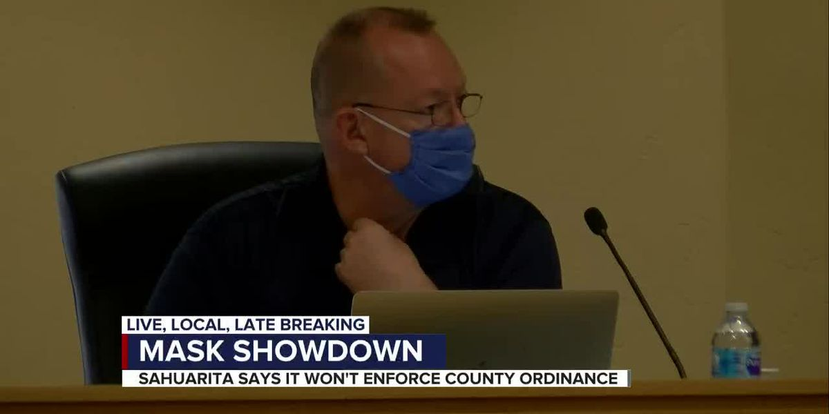 Sahuarita not mandating face coverings, says they are encouraged