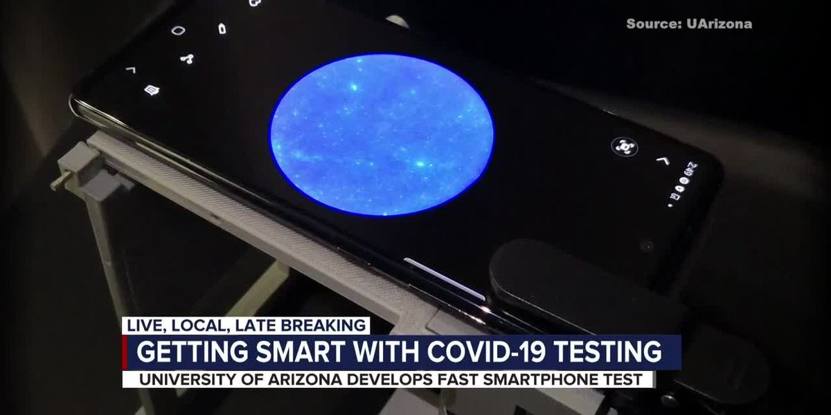 University of Arizona researchers work to develop smartphone test for COVID-19