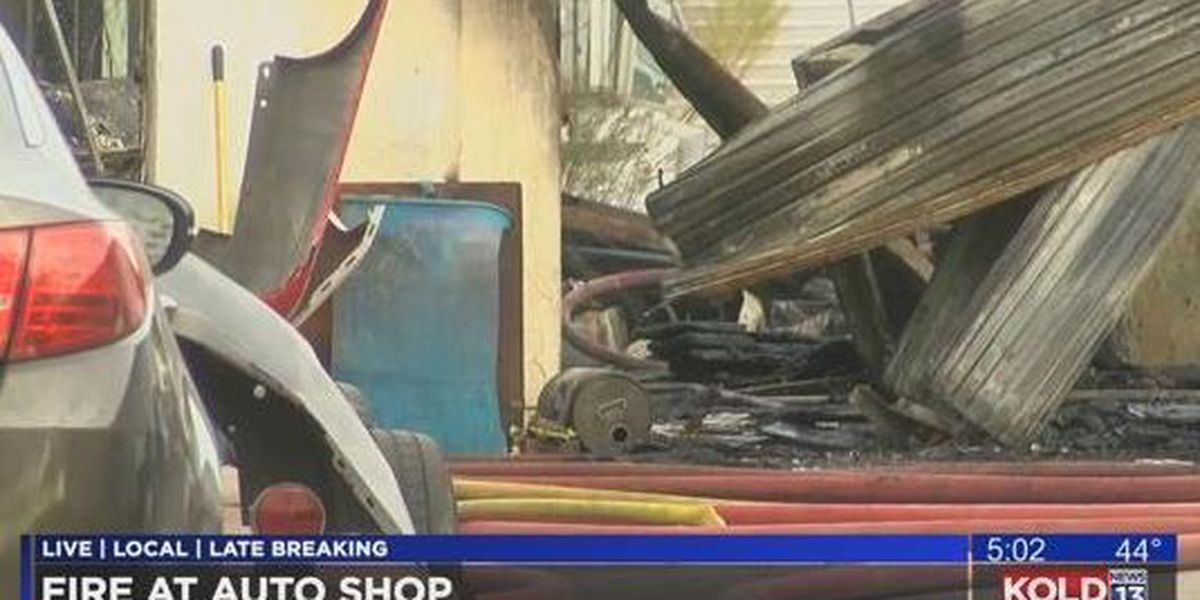 Customer speaks out following fire at autobody shop