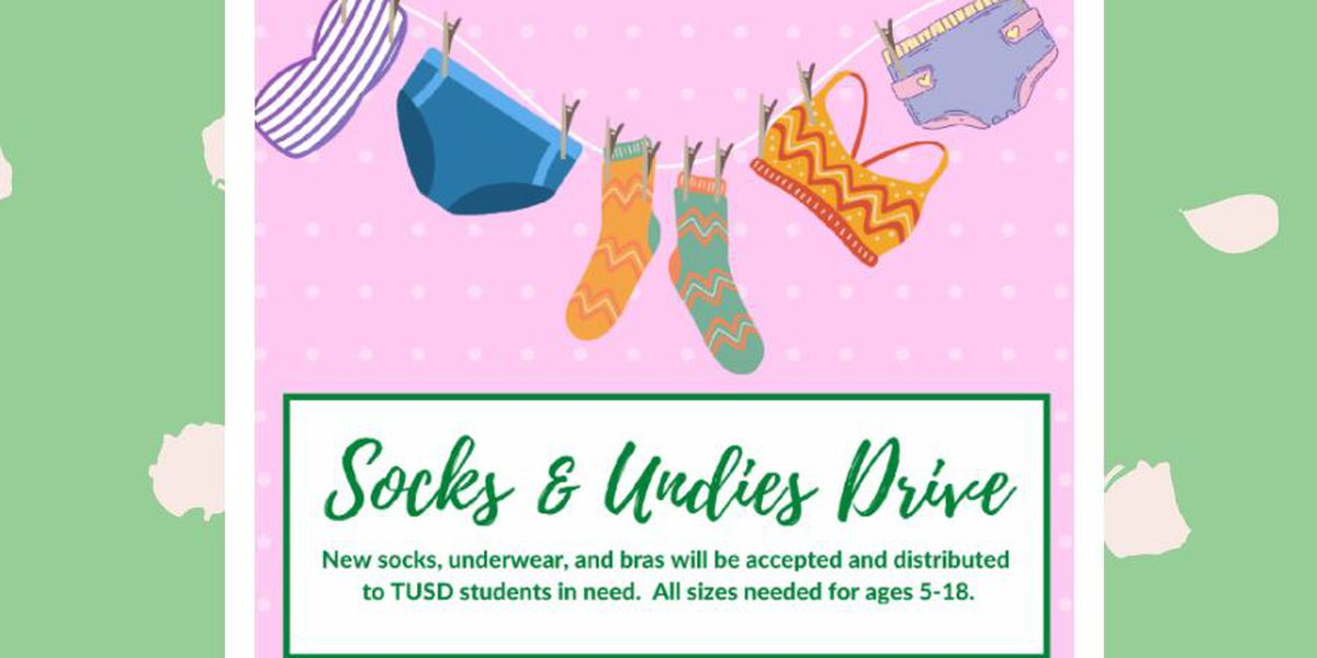 TUSD holding 'socks and undies' drive through February