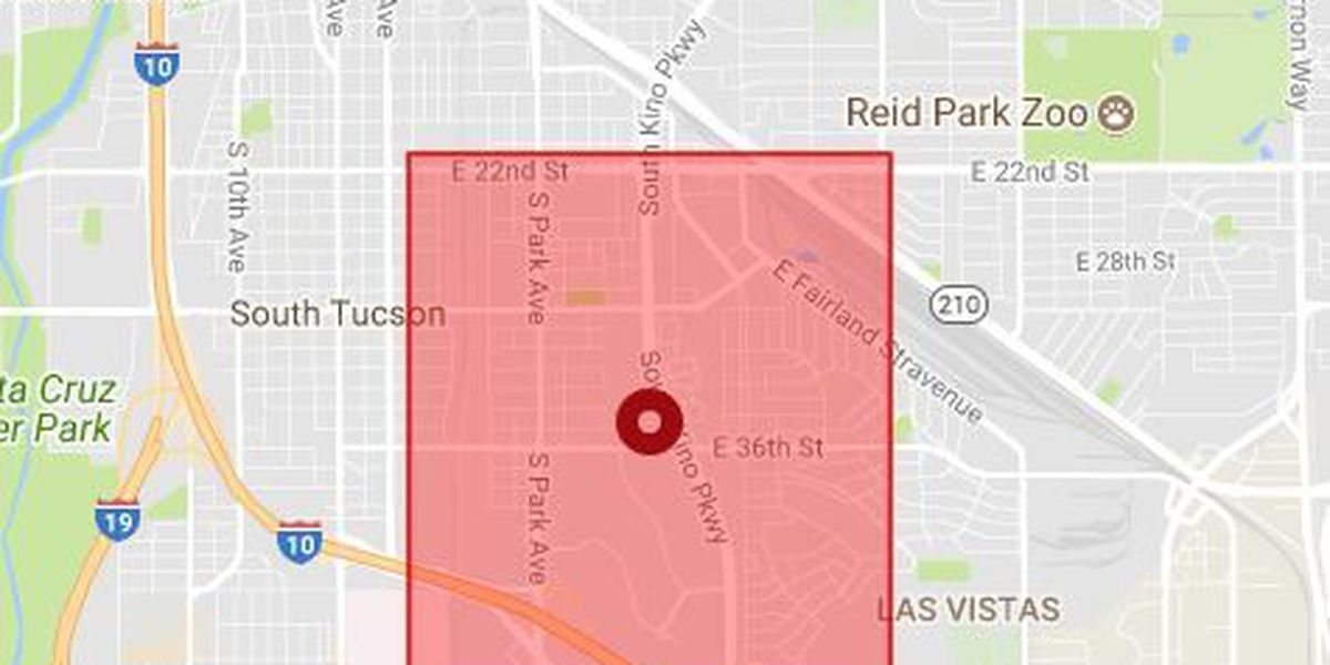 Power outage around South Tucson affects thousands of TEP customers