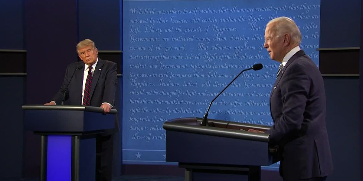 Biden refers to Trump as 'clown' in 1st presidential debate