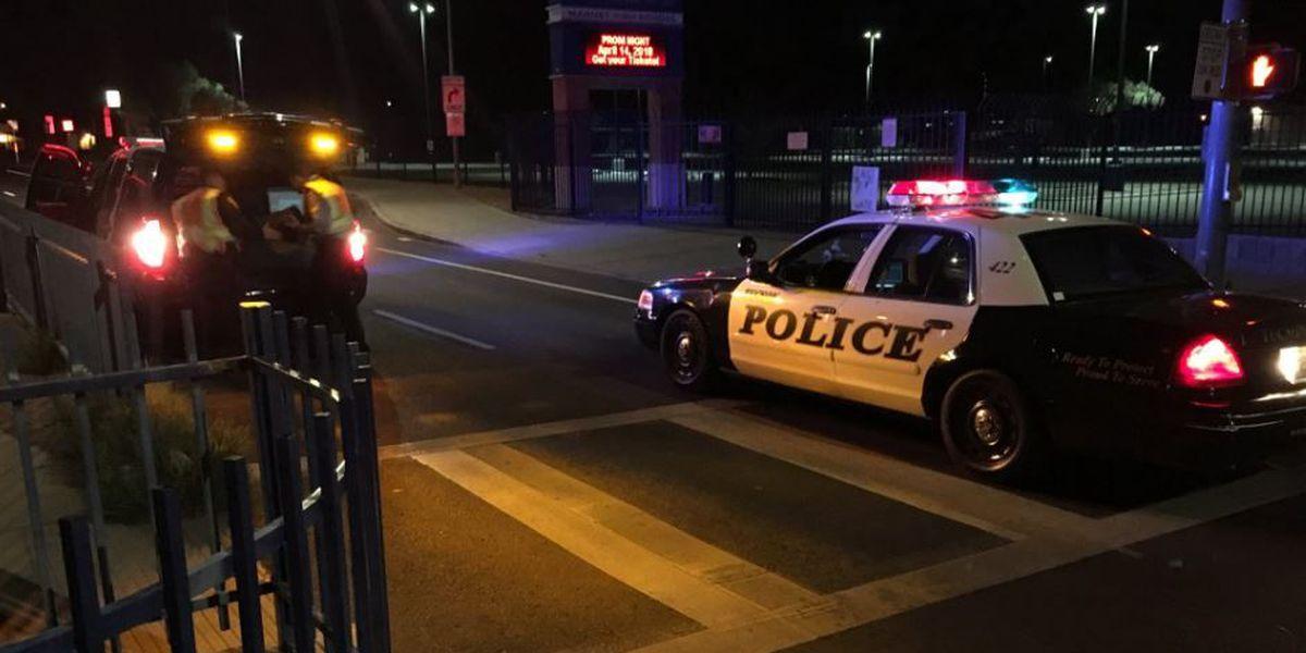Pedestrian struck by hit-and-run driver near Pueblo High