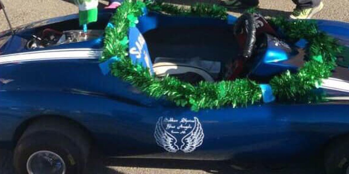 Tucson philanthropic group asks for help recovering stolen mini blue car