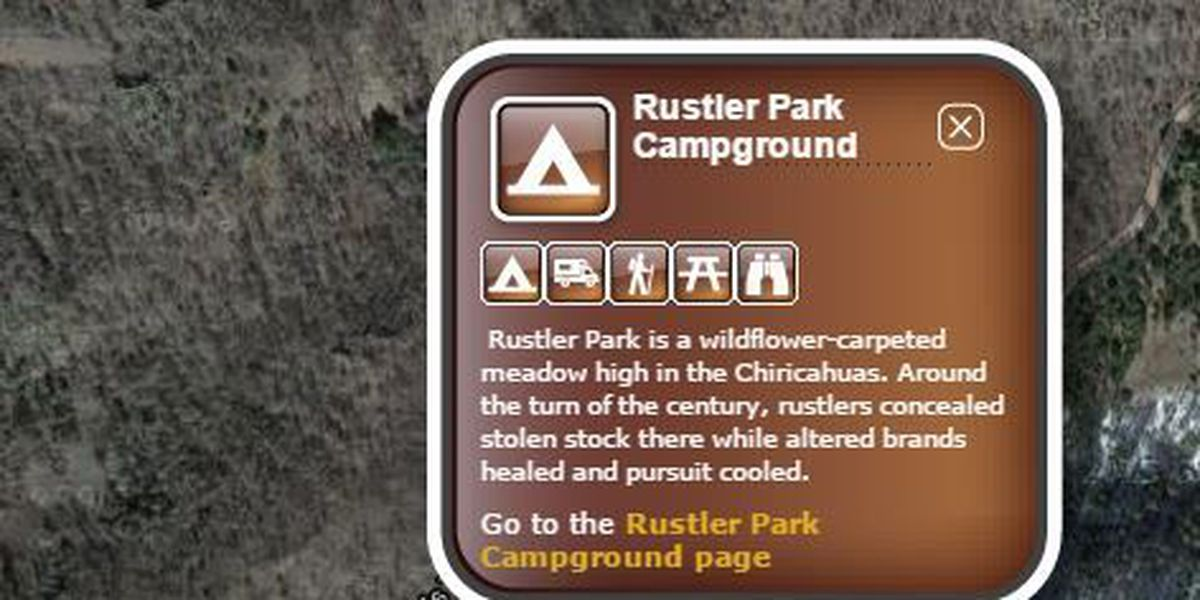 Rustler Park improvements in the Chiricahua Mountains