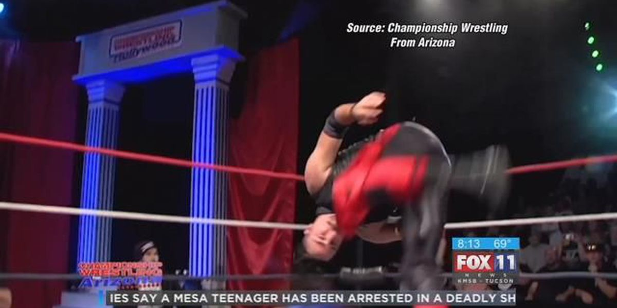 'Championship Wrestling from Arizona' stops by Fox 11 Daybreak