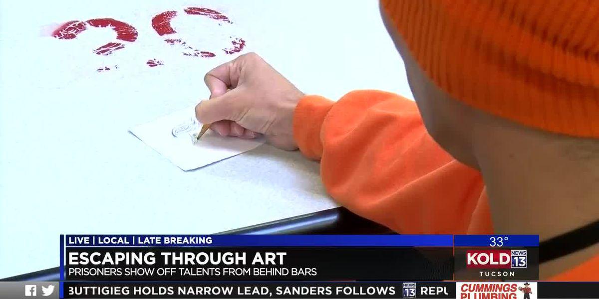 Beauty beyond bars: University of Arizona program helps showcase inmates' artwork