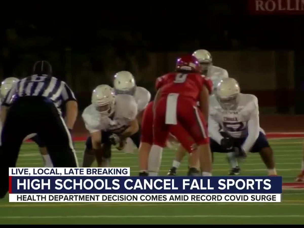 """""""It was crushing news"""": high school sports on pause in Pima County"""