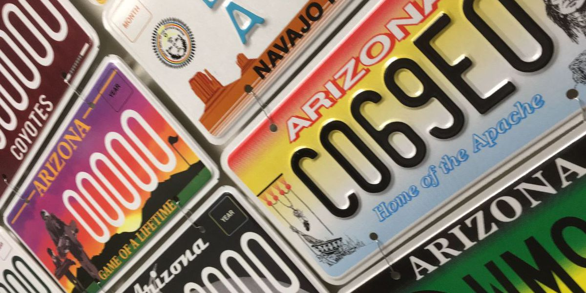 Benefits from AZ specialty license plates sales: choice and money raised for charitable causes