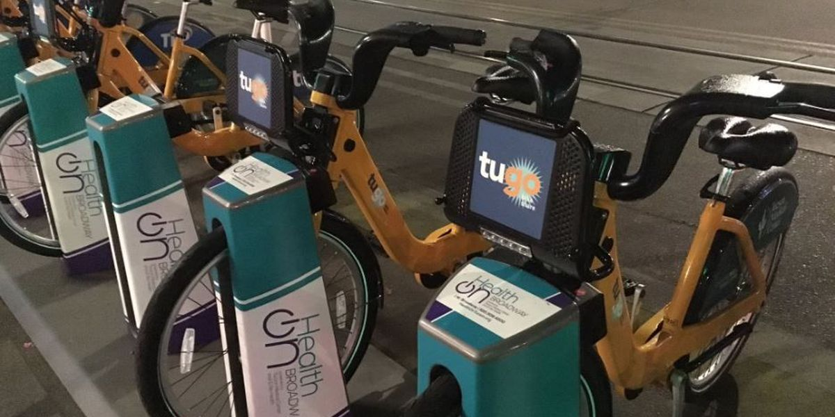 2700 bikes checked out since Tucson's bike share launch a month ago