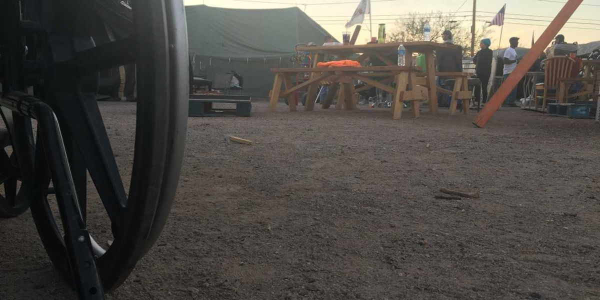 City to shut down, clear out Tucson homeless camp