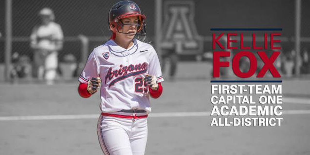 Kellie Fox Named First-Team Academic All-District
