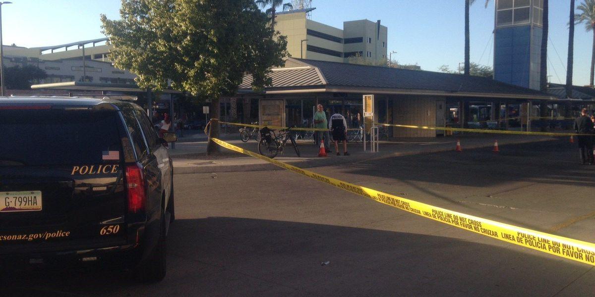 Report of shots fired near downtown Ronstadt Transit Center