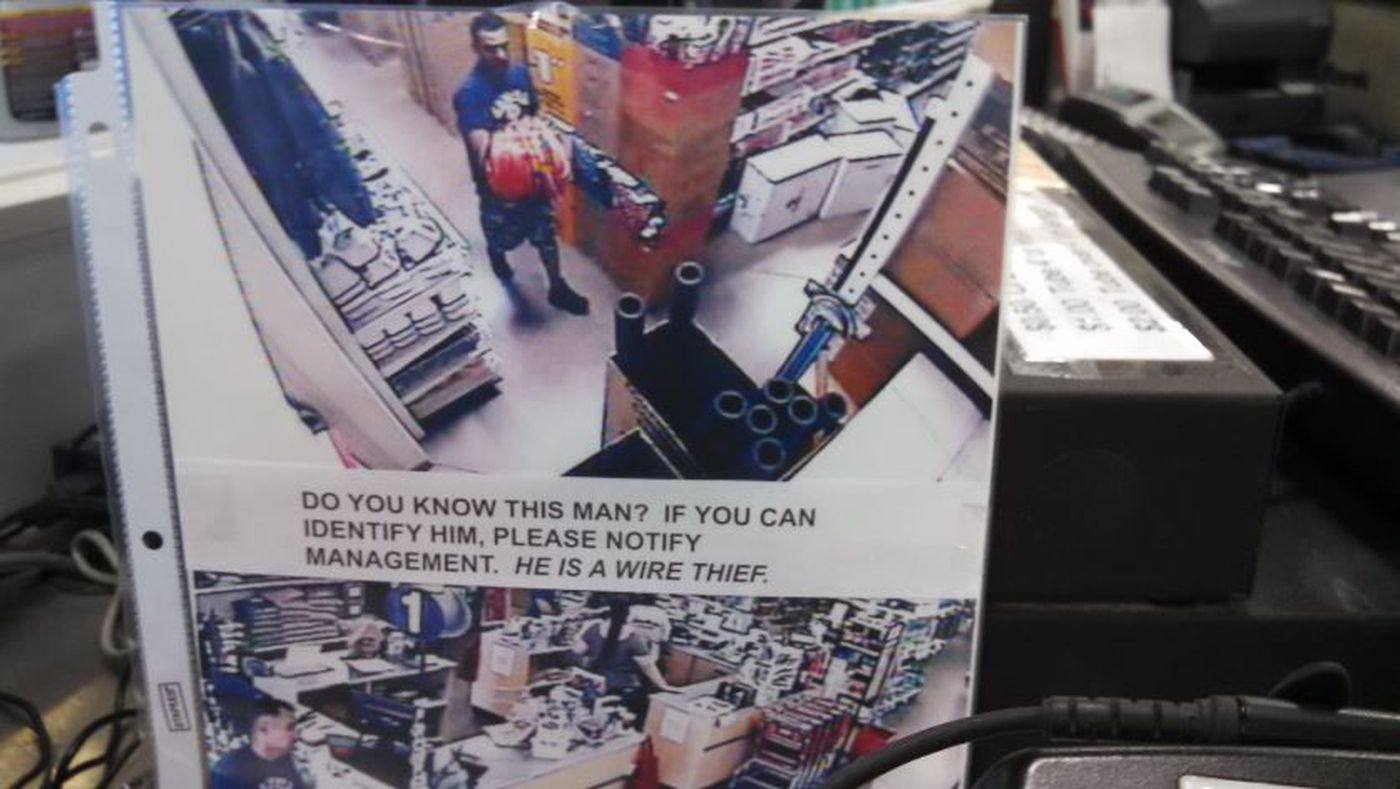 Copper thieves strike at ACE Hardware stores