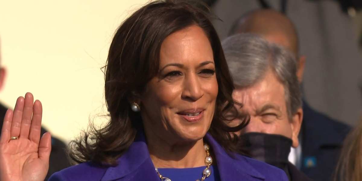 Historic day for women's equality as Kamala Harris becomes vice president