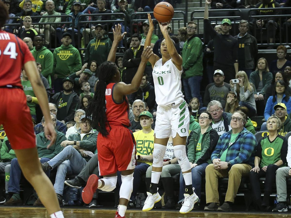 NCAAW: 20-0 Ducks start buries UA in Eugene