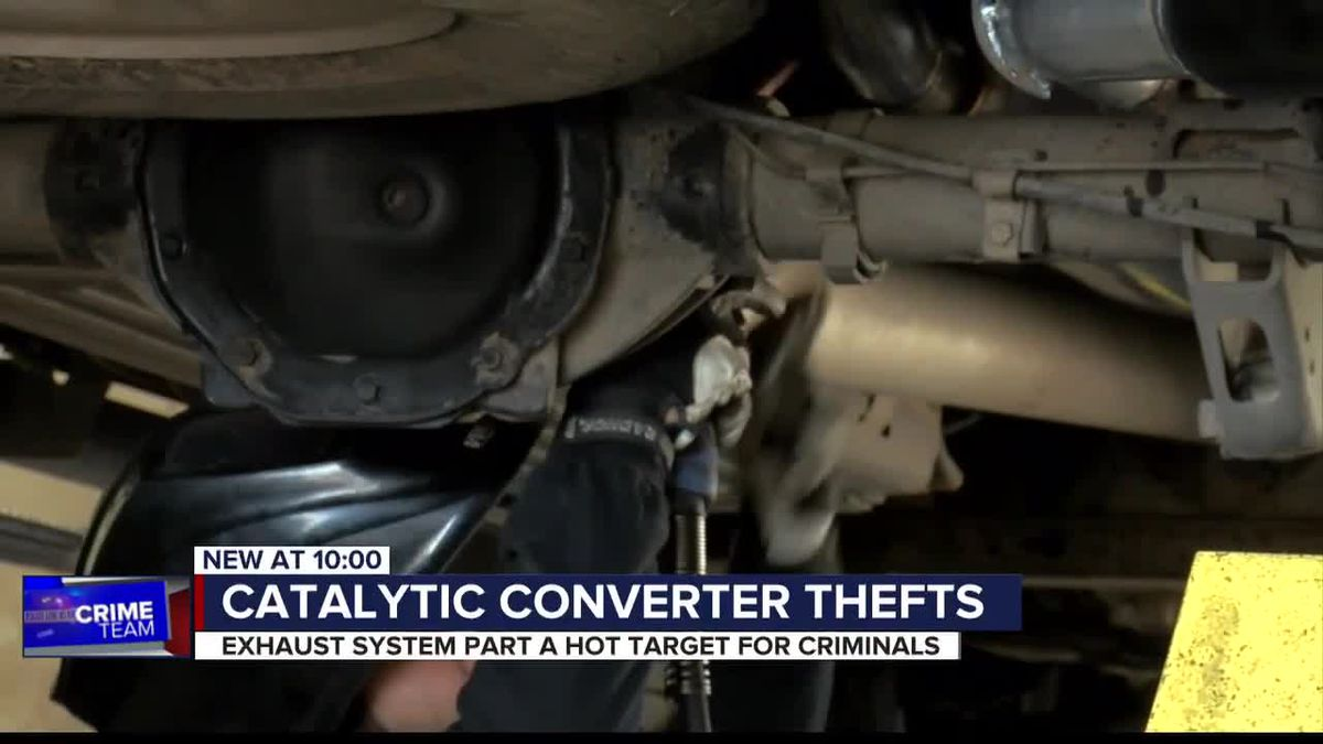 Auto part theft is on the rise in Southern Arizona