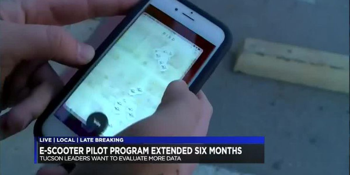 Tucson council extends e-scooter pilot program 6 months