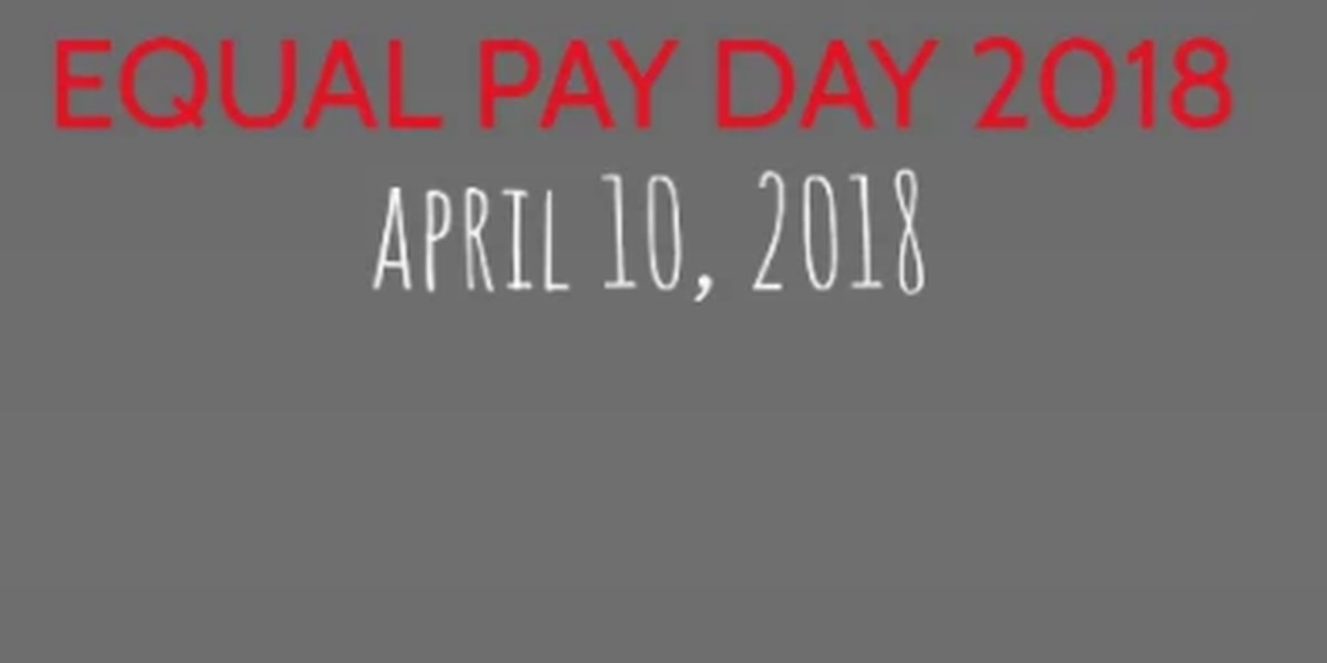 Equal Pay Day 2018 highlighting the wage gap in Arizona and across the US