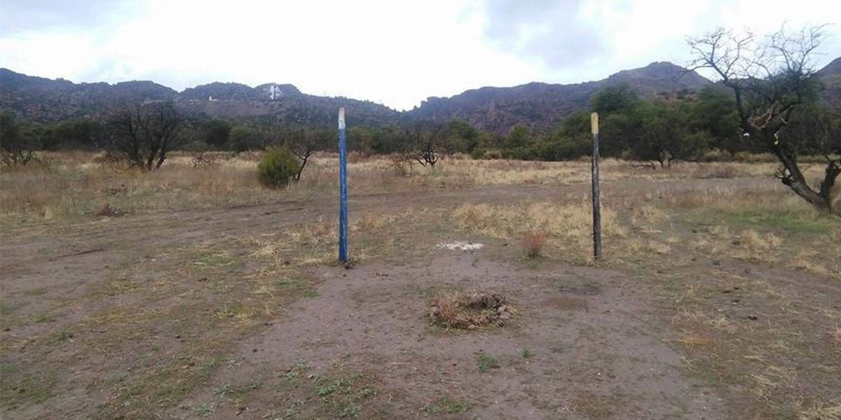 Apache religious site desecrated