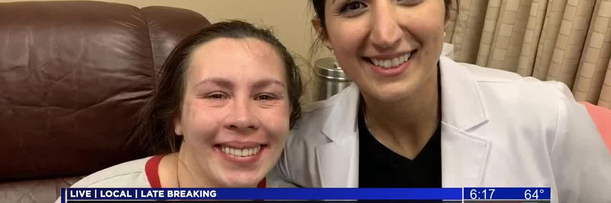 Local woman gets life-changing dental procedure