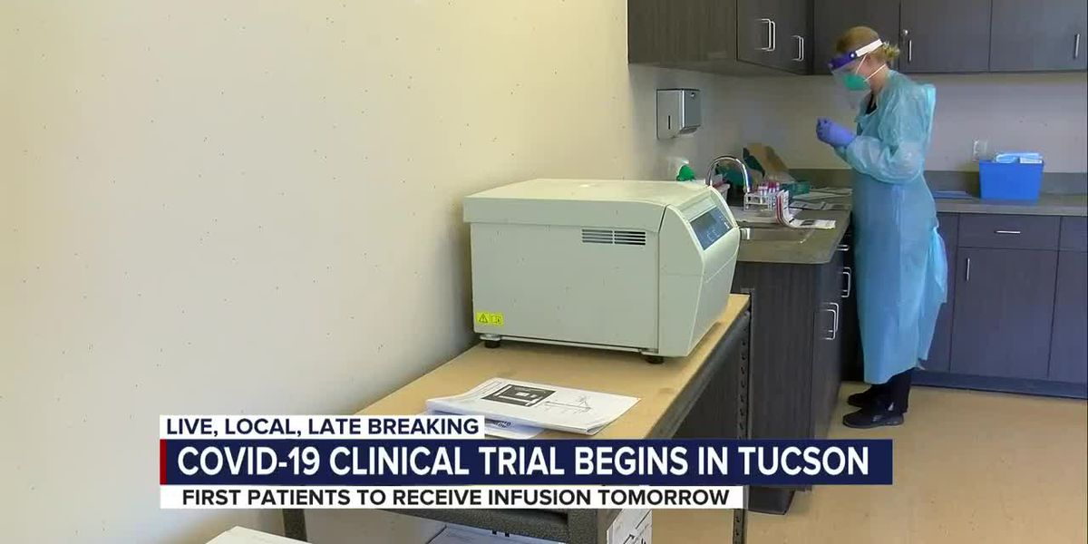 One-of-a-kind COVID-19 clinical trial happening now in Tucson