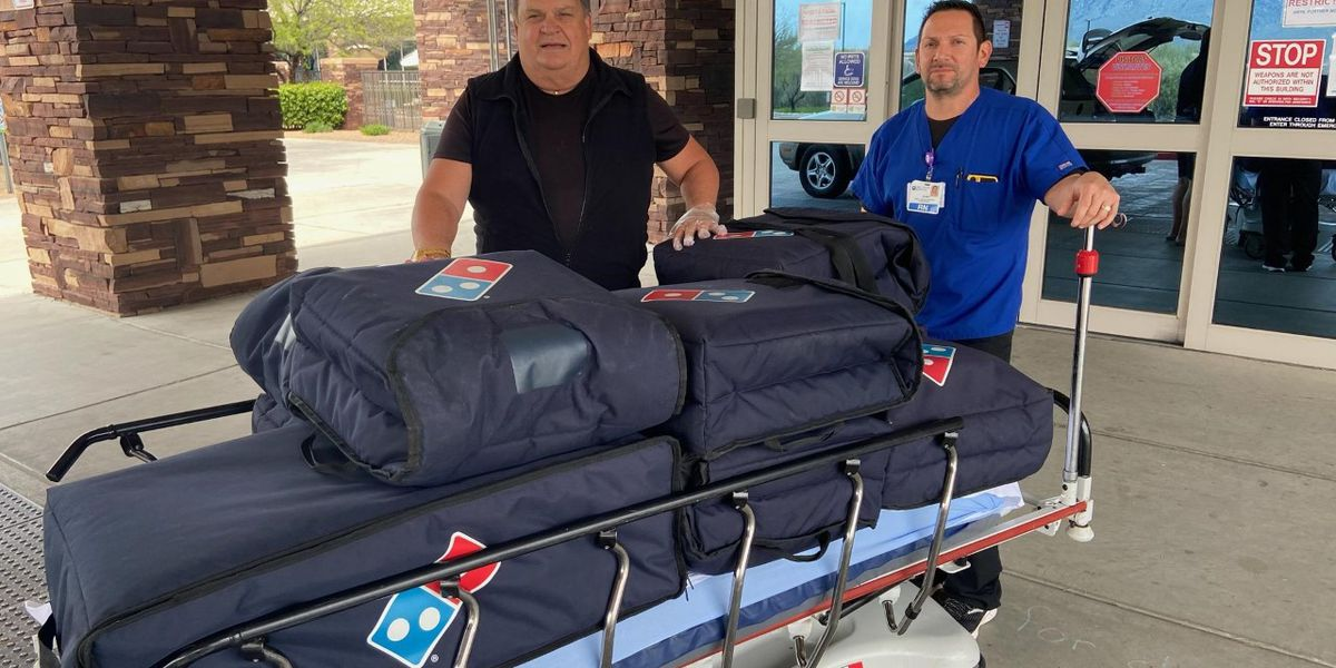 SaddleBrooke church delivers pizzas to Oro Valley hospital employees