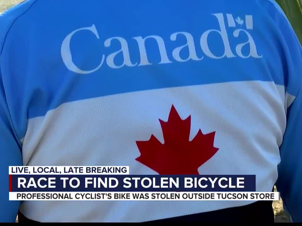 Canadian cyclist, Olympic hopeful asks for help recovering stolen bike