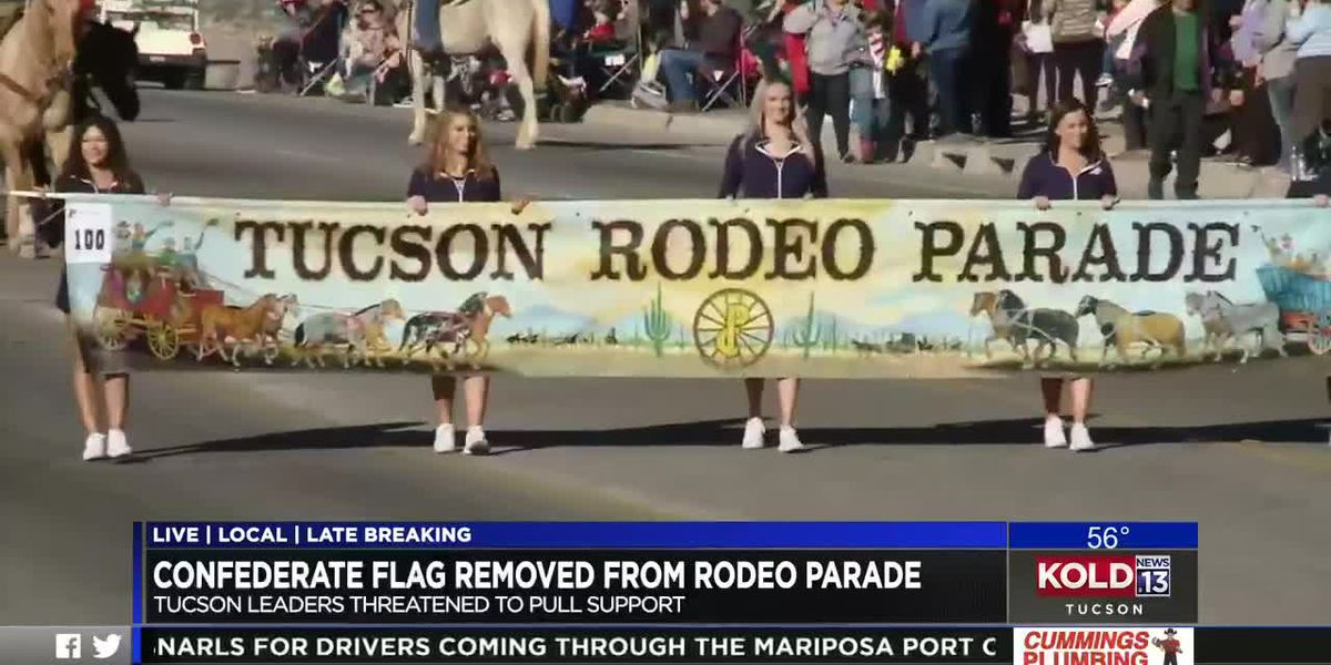 City officials call for removal of Confederate flag from Tucson Rodeo Parade