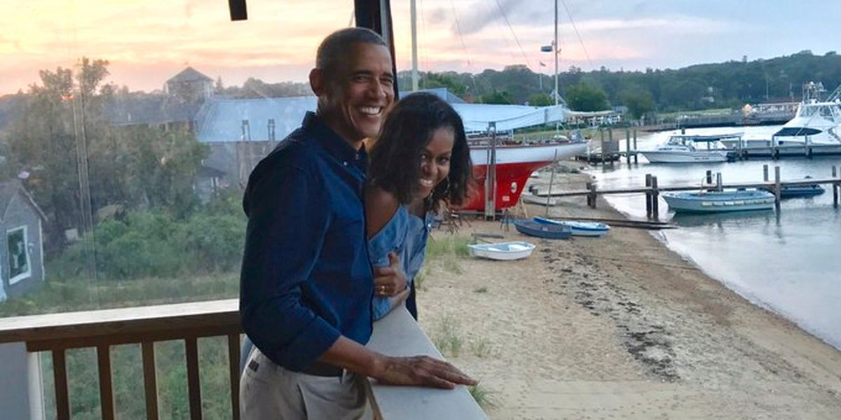 Barack and Michelle Obama post 27th-anniversary tributes on Twitter
