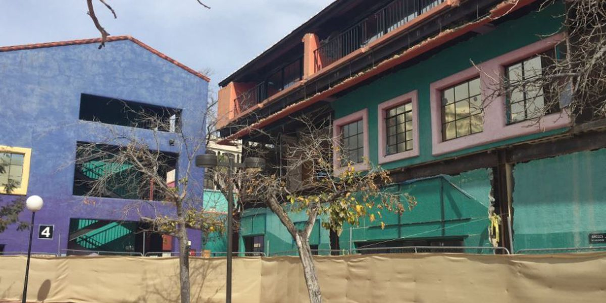 Demolition of La Placita Village begins
